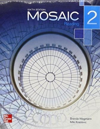 By Wegmann, Brenda ( Author ) [ Mosaic Level 2 Reading Student Book Plus Registration Code for Connect ESL By Jan-2013 Paperback
