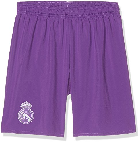 adidas Kinder Real Madrid Replica Shorts, Ray Purple/Crystal White, 152 -
