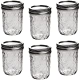 Ball Mason Quilted Crystal Jelly Jar 8oz/6er Set
