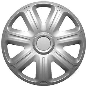 Altium 504214 Sachet 4 Enjoliveurs 14 Mod 520 Silver