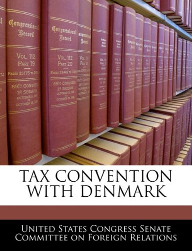 Tax Convention With Denmark