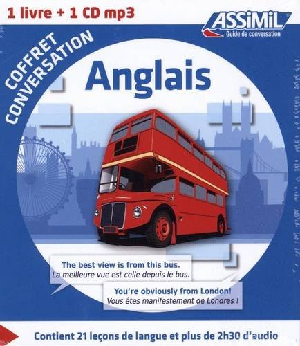Coffret conversation anglais (1CD audio MP3)