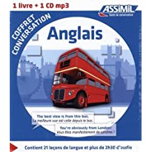 Coffret conversation anglais (guide +1 CD audio)