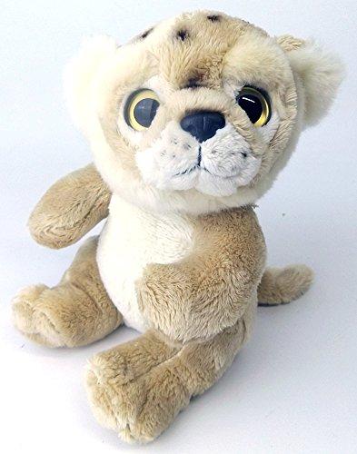 Wild Minis® Plüsch Kuscheltier Raubtier Baby Plüschtier (Mini Puma) thumbnail