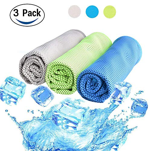 2. Snowledge - Pack 3 toallas refrigerantes absorbentes