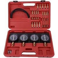 Motorrad Vergaser Vakuum Stabilisator Messgerät für 2,3,4 Zylinder Messgerät Set