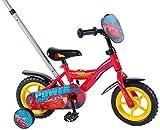 E&L Cycles Kinderfahrrad Disney Cars 3-10 Zoll mit Schubstange