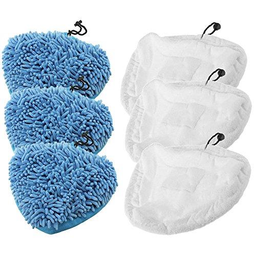 spares2go-gamuza-de-microfibra-coral-almohadillas-de-cubrir-para-bissell-3255-1867-seleccione-23v8e-