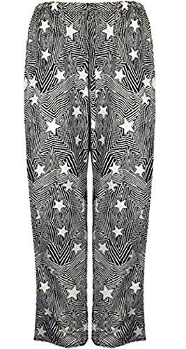 Vanilla Inc -  Pantaloni  - Donna star print
