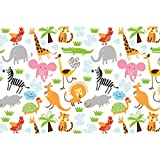 #10: ArtzFolio Cute Animals Art & Craft Gift Wrapping Paper 18 x 12inch;SET OF 2 PCS