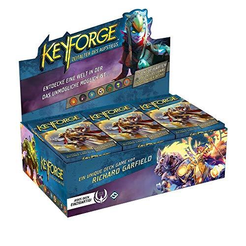 KeyForge - Zeitalter des Aufstiegs - Deck Packs / Display | Auswahl | DEUTSCH, Booster:12er (Display)