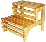 DJ002 Multipurpose folding wooden step stool Trittschemel Holzklapptritte Holzleiter Hocker Multifunktions-Pedal Wasserdichtes Haushalt Barrel Badmatte ändern Schuh Bench Trittschemel Small wooden ladder