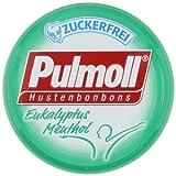 Pulmoll Eukalyptus Menthol zuckerfrei, 10er Pack (10 x 50 g)