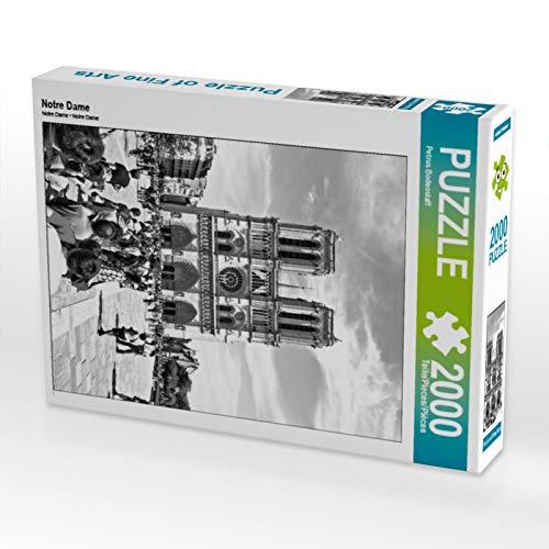 CALVENDO Puzzle Notre Dame 2000 Teile Lege-Größe 67 x 90 cm Foto-Puzzle Bild von Petrus Bodenstaff