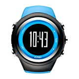 EZON T031 GPS Sports Watch for Men and Women Outdoor Leisure Running Digital Wrist Watches with Calorie Counter,Pace Reminder,Alarm and Stopwatch