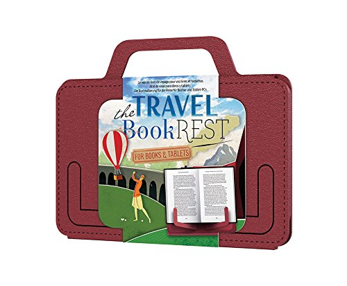 That Company Called If Travel Book Rest - Atril plegable, color rojo