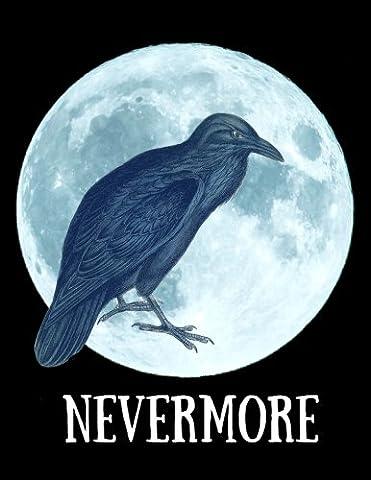 Nevermore Journal: Edgar Allan Poe The Raven Composition Notebook Journal