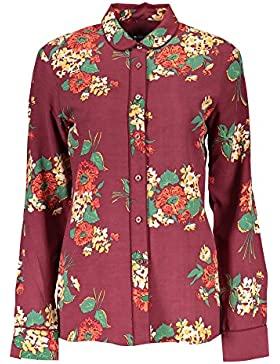 Gant 1403.432081 Camisa con Las Mangas largas Mujer Rojo 605 40