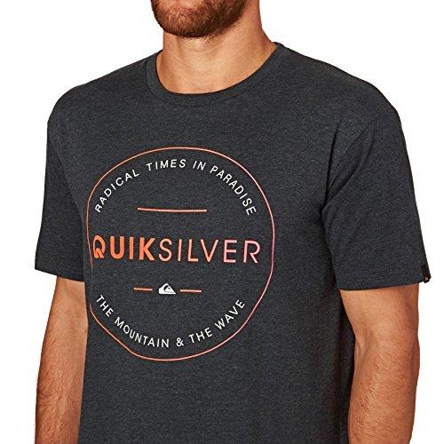Quiksilver T-Shirt CHARCOAL HEATHER