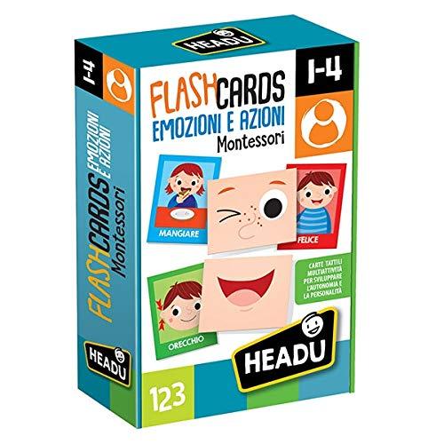 Headu Flashcards Montessori Emozioni e Azioni, IT20577