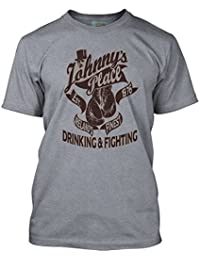Bathroom Wall Thin Lizzy Inspired JOHNNYS Place Boys Are Back In Town, Men's T-Shirt