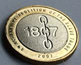 Abolition of the Slave Trade £2 Pound 2007 Brilliant Uncirculated Coin with Airtite Capsule Coin Holder (Abolition Slave Trade 2007)