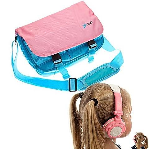 Ultimateaddons Kinder Kurier Lager Tasche mit Kopfhörer passend für Amazon