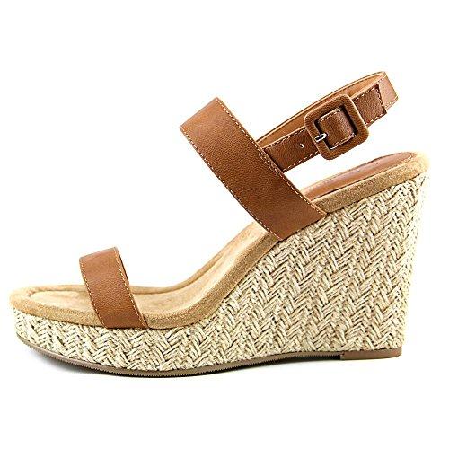 Style & Co Radleyy Kunstleder Keilabsätze Sandale Cajun Spice