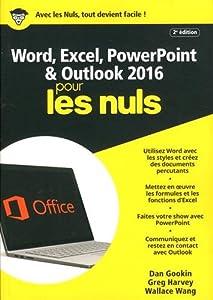 """Afficher """"Word, Excel, PowerPoint et Outlook 2016 pour les Nuls"""""""
