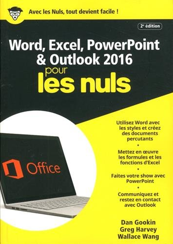 Word, Excel, PowerPoint & Outlook pour les nuls
