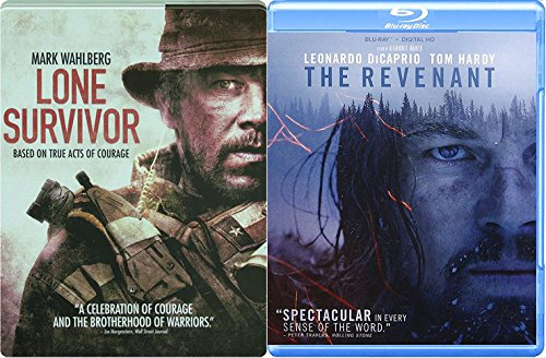 Revenant Wilderness 2 Blu-Ray Bundle & Lone Survivor Navy Seals Steelbook Double Feature Movie Bundle ()
