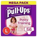 Huggies Töpfchen Training Pants für Mädchen, groß (4 X 14 )