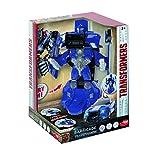 Dickie Toys 203113017 - Transformers Movie 5 Robot Fighter Barricade, verwandelbare Actionfigur, Roboter mit Licht und Sound, 24cm