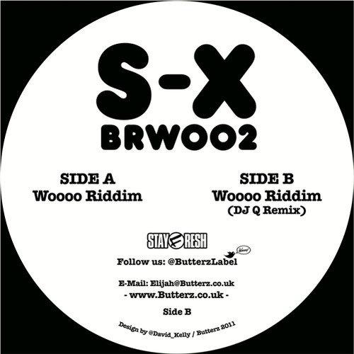 Wooo Riddim/DJ Q Remix [Vinyl Single] (12 X 12 Vinyl)