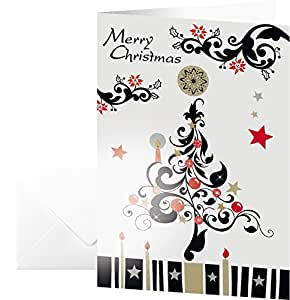 Sigel ds337 weihnachtskarten arabesque inkl umschl ge for Sigel weihnachtskarten