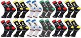 #4: Zacharias Men's Ankle Length Socks Pack of 12 Pair