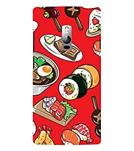 ifasho Designer Phone Back Case Cover OnePlus 2 :: OnePlus Two :: One Plus 2 ( Flower Colorful Pattern Design )