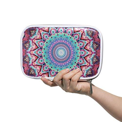 Malplee Stiftetui Mandala Art Center Muster 22,9 x 14 cm Stifthalter für Mittelschule Make-up Pinsel Tasche