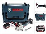 Bosch GWS 18 V 115 SC Akku Winkelschleifer in L-Boxx + GCY 30-4 Connectivity Modul + 1x GBA 18 V 6,0 Ah Akku - ohne Ladegerät
