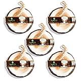 labote hechas a mano tailandesa bio Natural Jabón Coco con botón Aroma