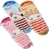 Skandika Sorgenfresser Schlafsack für Kinder mit großer Tasche
