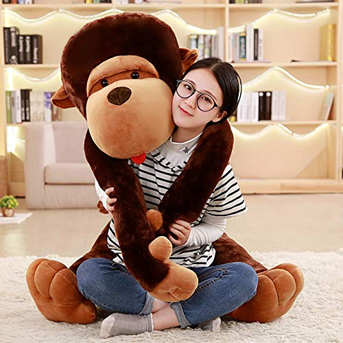 S.perfect Orang-outan en Peluche Mignon et Amusant, pour Les Enfants et Petites amies, Toujours accompagné, Taille 80 cm -130 cm en Option,80cm