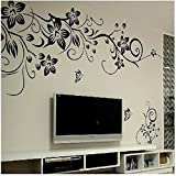 TheBigThumb 3D Self-Adhesive Removable Wall Stickers Art Decals Decoration Creative Wallpaper for Living Room Bedroom Home