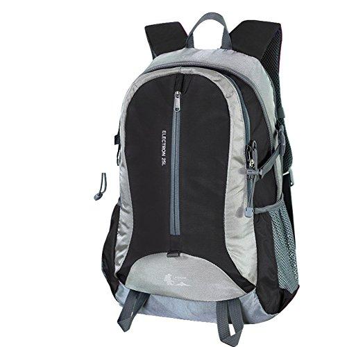 Outdoor Rucksack Tasche wandern/Camping Rucksack/ Reise-Trek Rucksack Schwarz