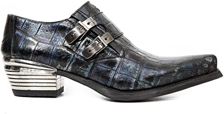 New Rock Dallas Blau Schuhe M.7934 S80