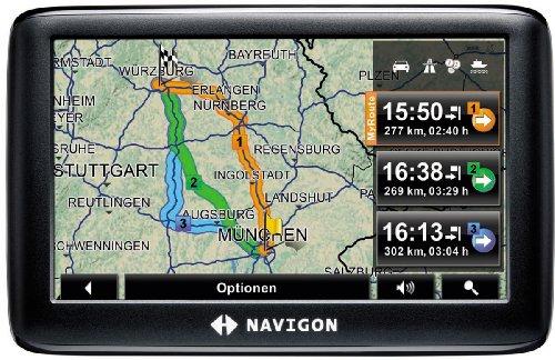 Navigon 3310 max Navigationssystem (10,9 cm (4,3 Zoll) Display, TMC, Europa 20, NAVIGON MyRoutes, Reality View Light, Clever Parking)