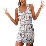ZODOF Vestido de Fiesta con Cuello de Pico para Mujer Vestido Ajustado Vestido de Noche Vestido de cóctel Clubwear de Lentejuelas con Remiendo de Lentejuelas