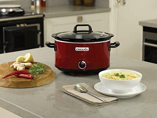 Crock-Pot SCV400RD-050 Roter Schongarer 3,5 L
