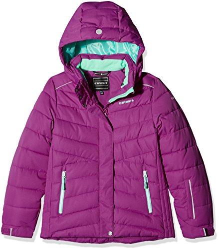 ICEPEAK Mädchen HOLLY JR Kinderanorak HOLLY JR, Lila (Violett), 176 Winter Holly