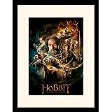 """The Hobbit """"La Désolation de Smaug–One Sheet"""" montée et encadrée, Multicolore, 30x 40cm"""